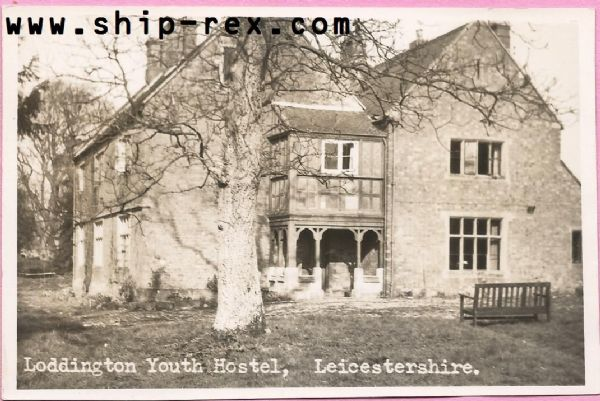 Loddington Youth Hostel - plain back card